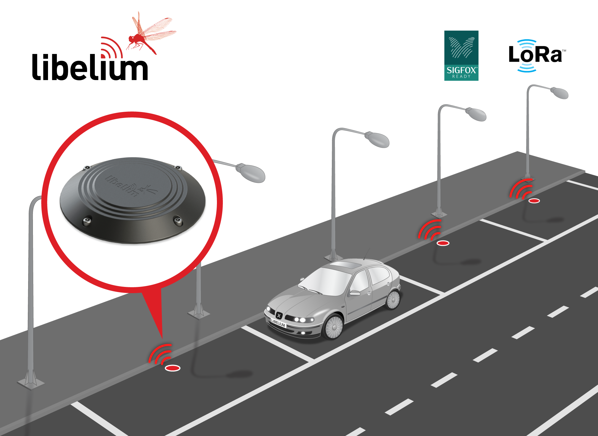 New Smart Parking By Libelium Includes Double Radio With