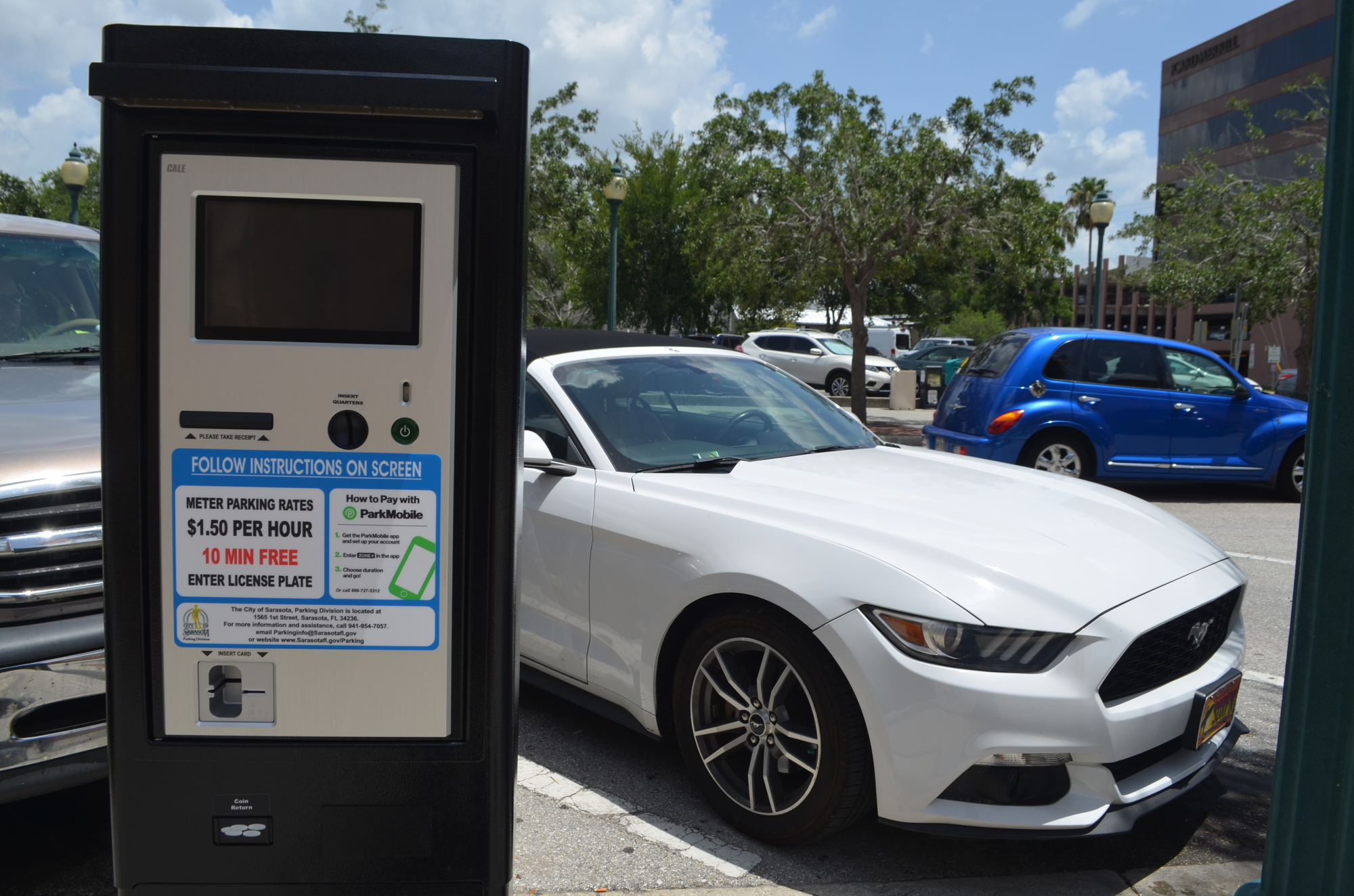 Sarasota, FL Partners with Flowbird to Expand Smart Parking